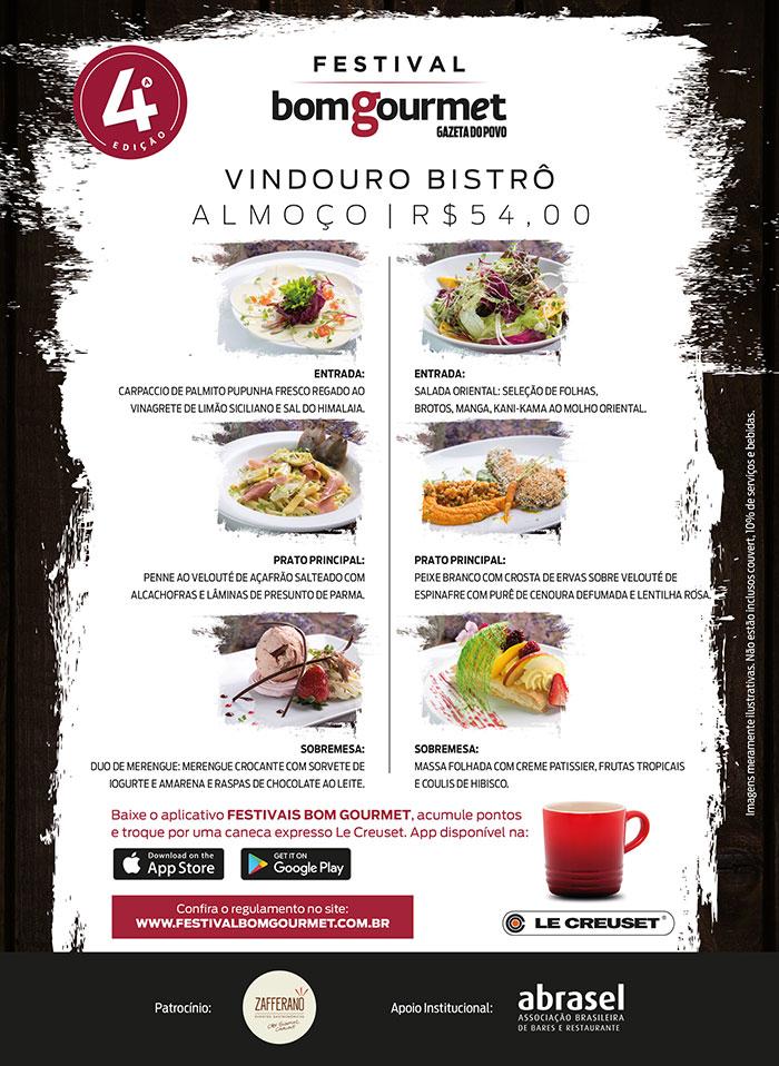 Festival Bom Gourmet - Vindouro
