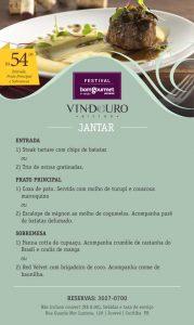 Festival Bom Gourmet Restaurante Vindouro