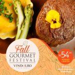 Fall Gourmet Festival chegou no Vindouro