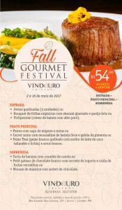 Fall Gourmet festival - Restaurante Vindouro, Curitiba