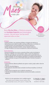 Dia das mães no restaurante Vindouro