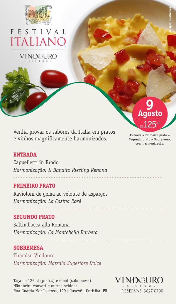 Festival Italiano no Vindouro