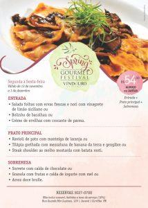Spring Festival Vindouro Restaurante