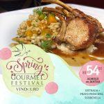 Começou o Spring Gourmet Festival no Vindouro!