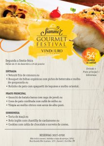 Vindouro Summer Gourmet Festival