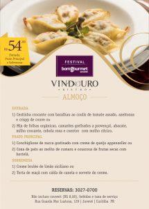 Festival Bom Gourmet - Restaurante Vindouro Curitiba