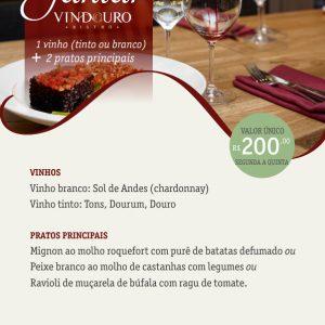 Jantar Especial - Restaurante Vindouro Curitiba