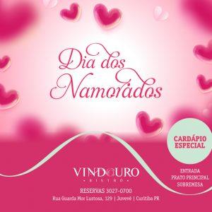 Dia dos Namorados - Restaurante Vindouro Curitiba
