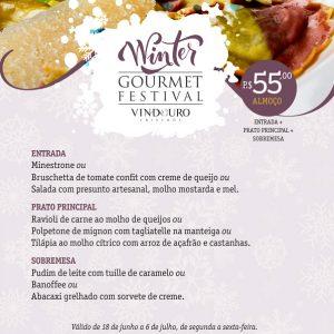 Cardápio - almoço executivo - Restaurante Vindouro