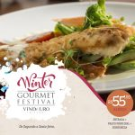 Winter Gourmet Festival no Vindouro