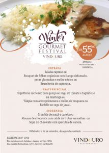 Winter Goumet Festival - Restaurante Vindouro