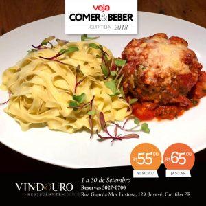 Veja Comer & Beber Curitiba 2018 - Restaurante Vindouro