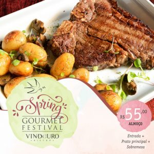 Spring Goumet Festival - Restaurante Vindouro