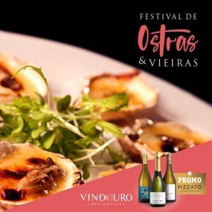 Festival de Ostras e Vieiras no Restaurante Vindouro