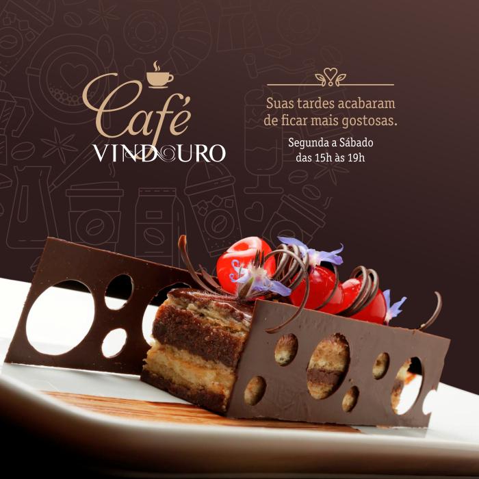 Café Vindouro no Restaurante Vindouro