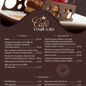 Café Vindouro no Restaurante Vindouro