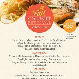 Fall Gourmet Festival - Restaurante Vindouro