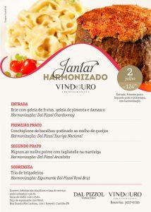 Jantar Harmonizado Dal Pizzol- Restaurante Vindouro
