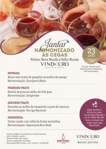 Jantar Harmonizado às Cegas - Restaurante Vindouro