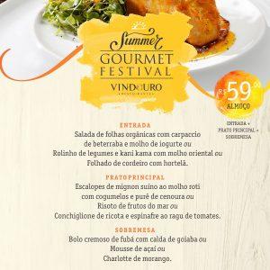 Summer Gourmet Festival - Restaurante Vindouro