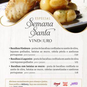 Especial Semana Santa - Restaurante Vindouro Curitiba