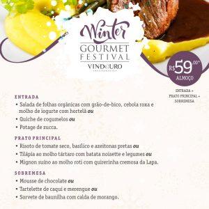 Winter Gourmet Festival - Restaurante Vindouro
