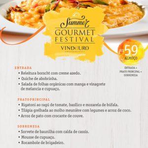 Almoço Executivo - Restaurante Vindouro