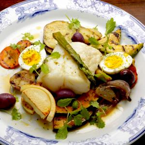 Bacalhau à Lagareiro - Vindouro Restaurante